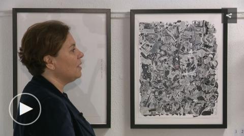 'Conversas', de Sabela Arias, no antigo Liceo de Betanzos