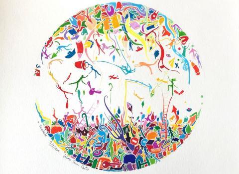 32 obras da artista lucense Sabela Arias chegan a Rede Museística Provincial